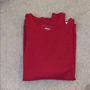 Red Sonoma Long Sleeve